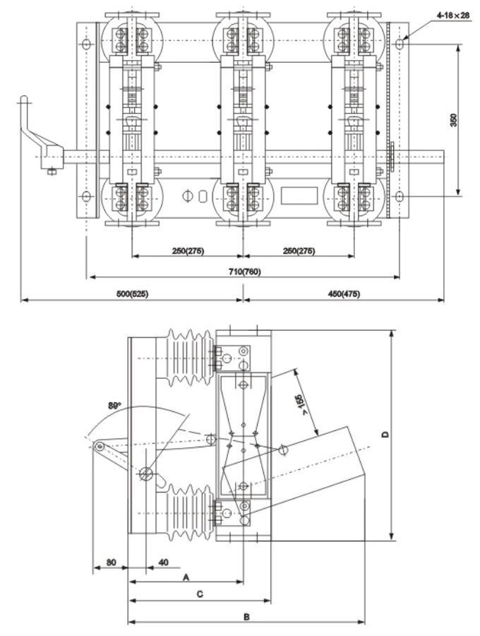 其他低压电器-gn22-10c/2000a隔离开关-其他低压电器